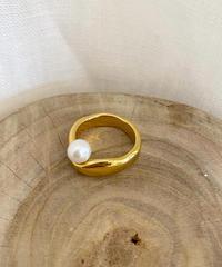pearl simple ring