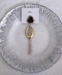 handmade  earring  -611-