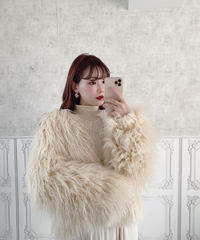 feather coat -FA310-