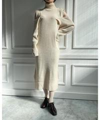 3way knit one-piece