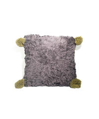 7.Cushion Cover S/ Purple gray×Beige(35×35)