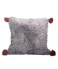 6.Cushion Cover M/ Purple gray×Gray (45×45)