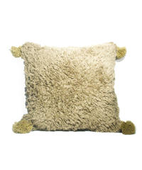 5.Cushion Cover M/ Beige×Gray (45×45)
