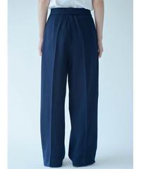 Women's Wide Pants Navy (ワイドパンツ・ネイビー)