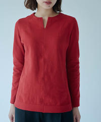 Women's  V necked  Sweater  Red (Vネックセーター・レッド)