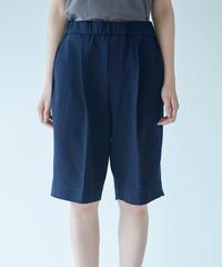 Women's Half pants Navy(レディースハーフパンツ・ネイビー)