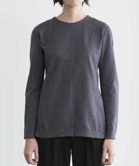 Women's  R necked Sweater Darkgray (Rネックセーター・ダークグレー )