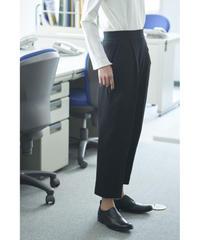 Women's Tapered Pants  Black (テーパードパンツ・ブラック)