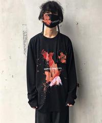 【1点物】KONYA×CILANDSIA  Tee & paintMask Special Edition / BLACK