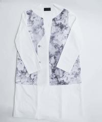 Flat double Gown (TAKASHI KONDO) 【2020ss】