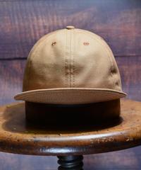 SOLID DUCK CAP  (BROWN)