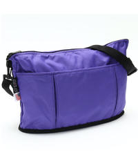 OVAL SHAPED BAG(Lサイズ) PURPLE