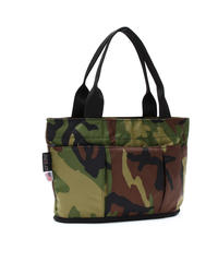 OVAL SHAPED TOTE BAG(Mサイズ) WOODLAND CAMO