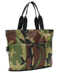 OVAL SHAPED TOTE BAG(Lサイズ) WOODLAND CAMO