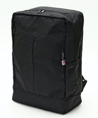 DIAGONAL ZIPPER BACKPACK(Lサイズ) BLACK