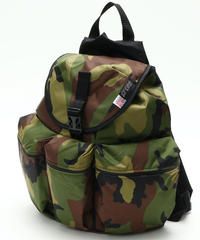 3POCKET BACK PACK(Lサイズ) WOODLAND CAMO