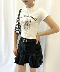 ドッグプリントTシャツ