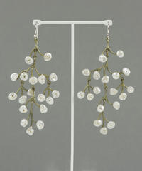 【MICHAEL MICHAUD】BABYS BREATH シャンデリアピアス