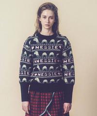 ネッシーのセーター  (charcoal)
