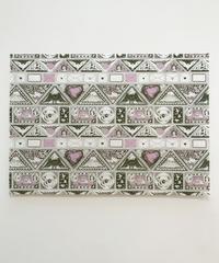 切手シートのラッピングペーパー (4枚セット)