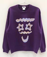 クリームフェイススウェット (purple)