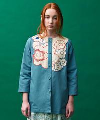 ラフレシアのスプリングジャケット (blue)