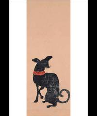 ポストカード(洋犬図[家治])