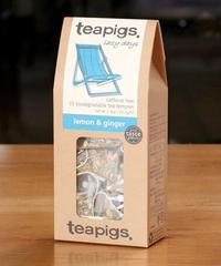 teapigs[ティーピッグス]レモン&ジンジャーハーブティー(ノンカフェイン)