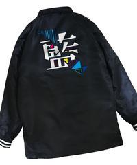 【藍】コーチジャケット