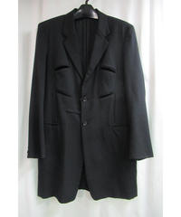 06aw yohji yamamoto pour homme カッティングデザインロングジャケット HB-J10-100