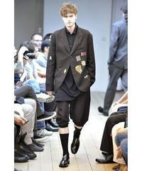 美品 2011ss yohji yamamoto pour homme 刺繍ワッペン付きジャケット