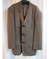 80's オールドyohji yamamoto pour homme vintage 水牛釦デザインジャケット
