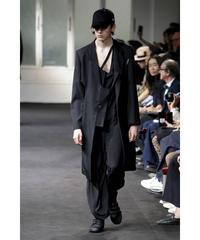 未使用 19ss yohji yamamoto pour homme カッティングデザインロングジャケット