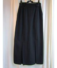 Y's yohji yamamoto femme 裾プリーツタイトスカート