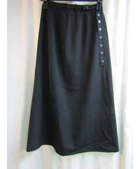 Y's yohji yamamoto ボタンデザインAラインスカート