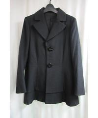 05aw yohji yamamoto femme 黒 BIGボタンデザインジャケット FN-J31-187