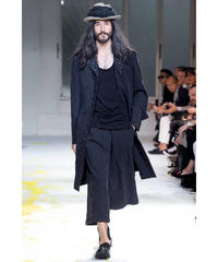 2015ss yohji yamamoto pour homme 装飾釦 ジャガードロングジャケットセットアップスーツ