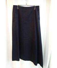 Y's yohji yamamoto femme 裾アシメフレアスカート