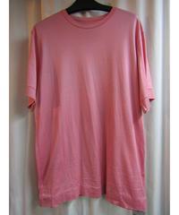 難あり Y-3 yohji yamamoto ピンク バックロゴプリントTシャツ