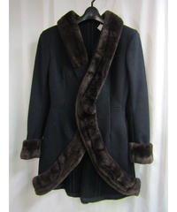 80's yohji yamamoto femme vintage ヌートリア装飾デザインジャケット