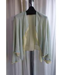 オールド yohji yamamoto femme 着物 デザイン2枚重ねジャケット