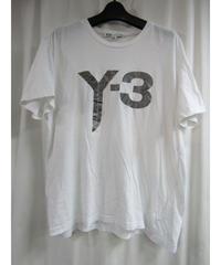 Y-3 yohji yamamoto フロントプリントカットソー