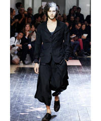 14ss yohji yamamoto pour homme  黒 レイヤードデザインジャケット HG-J19-802