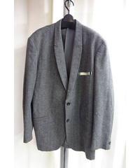 93aw yohjiyamamoto pour homme vintage グレーストライプデザインロングジャケット