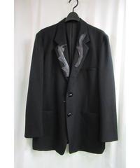 2000aw yohji yamamoto pour homme レザー装飾デザインジャケット