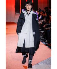 18aw yohji yamamoto pour homme フード付Aラインドレス HV-D38-105