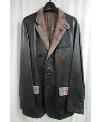 12aw yohji yamamoto pour homme リバーシブルデザインジャケット HD-J53-806