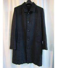 Y's yohji yamamoto femme ステンカラーデザインロングジャケット