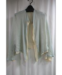 80's yohji yamamoto femme vintage レイヤードデザインショートジャケット