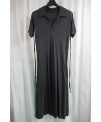 05ss yohji yamamoto +noir 袖デザインロングワンピース NY-T14-039